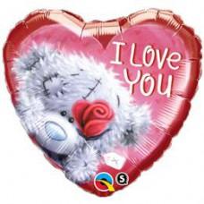46 cm-es Tatty Teddy I Love You Szerelmes Fólia Lufi