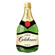 96 cm-es Celebrate Bubbly Wine Bottle - Pezsgősüveg - Fólia Lufi