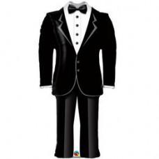 96 cm-es Groom's Wedding - Vőlegény Szmoking Esküvői Fólia Lufi