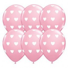 28 cm-es Big Hearts Pink Lufi 1 db