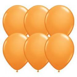 28 cm-es Orange (Standard) Kerek Lufi 1 db