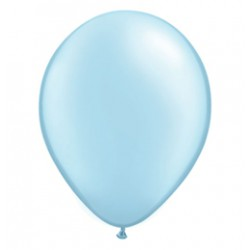 28 cm-es Pearl Light Blue Kerek Lufi 1 db