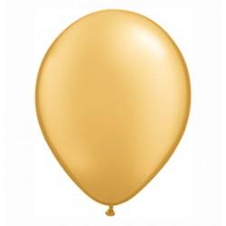 28 cm-es Metallic Gold Kerek Lufi 1 db