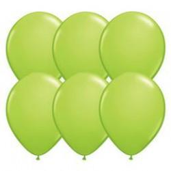 28 cm-es Lime Green (Fashion) Kerek Lufi 1 db