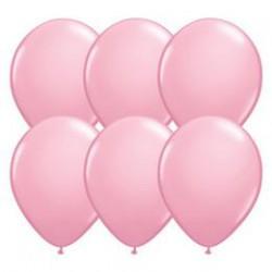 28 cm-es Pink (Standard) Kerek Lufi 1 db