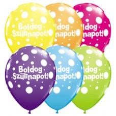 40 cm-es Boldog Születésnapot Big Polka Dots