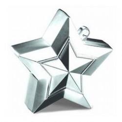 Ezüst (Silver) Csillag Léggömbsúly