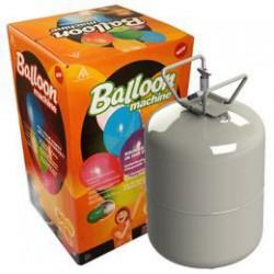 Eldobható Hélium Palack 50 db Latex (gumi) Léggömb Felfújásához