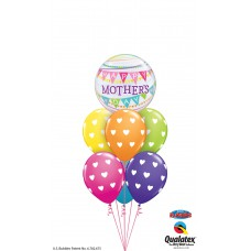 Anyáknapi héliumos léggömbcsokor