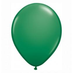 11 inch-es Green (Standard) Kerek Lufi (6 db-os csomag)