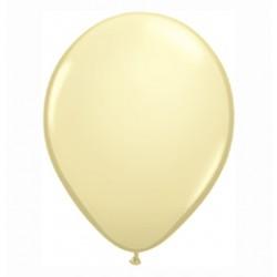 11 inch-es Ivory Silk (Fashion) Kerek Lufi (100 db-os csomag)