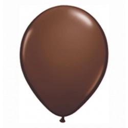 11 inch-es Chocolate Brown (Fashion) Kerek Lufi (25 db-os csomag)