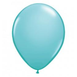 11 inch-es Caribbean Blue (Fashion) Kerek Lufi (100 db-os csomag)