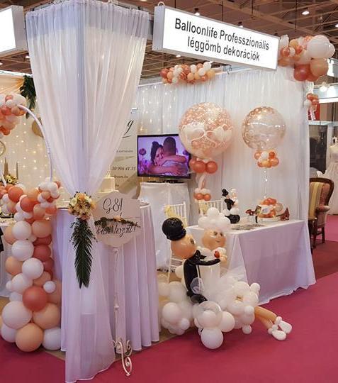 esküvői lufidekorációk
